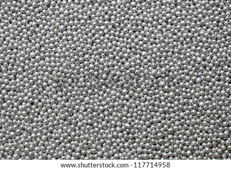 small silver balls pattern, silver balls