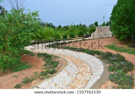 small stream for flowing of water on the earth #1507962530
