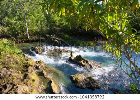 Small streams in mountainous areas #1041358792