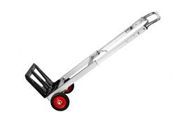 Small trolley cart to transport small things, handcart, cart, pushcart, barrow, wheelbarrow, aluminum cart