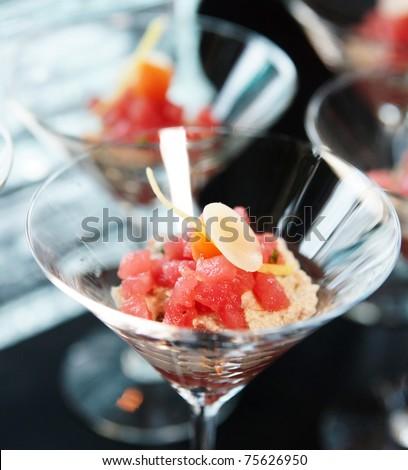 Small tuna snack