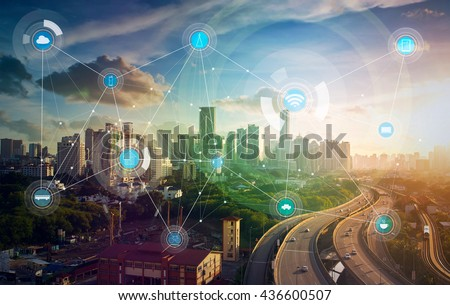 smart city and wireless...
