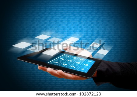 Smart hand and digital touch pad