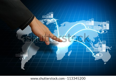 Smart hand take control the world graph report
