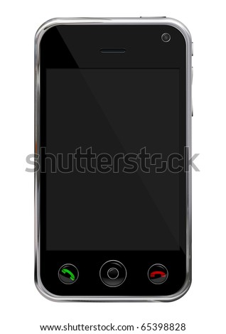 Smart phone, communicator - stock photo