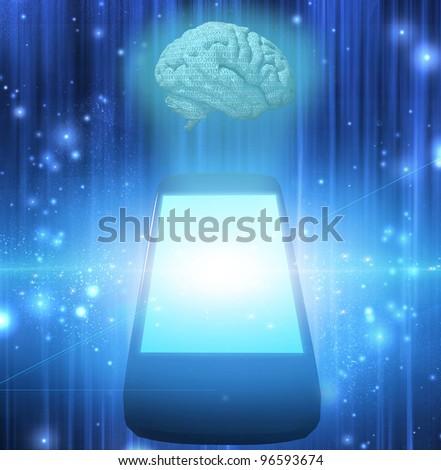 Smart Phone with Brain