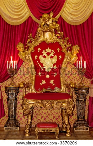 Smart royal throne
