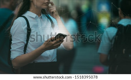 Smart technologies in your smartphone, collection and analysis of big data about a person through mobile services and applications. Identification and privacy in context modern digital technologies.