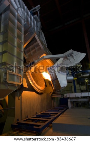 smelter. ignition torch