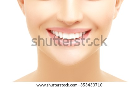 Smile.Blue background #353433710