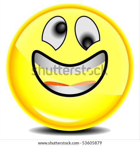 smile face, Have A Nice Day, jpg - stock photo