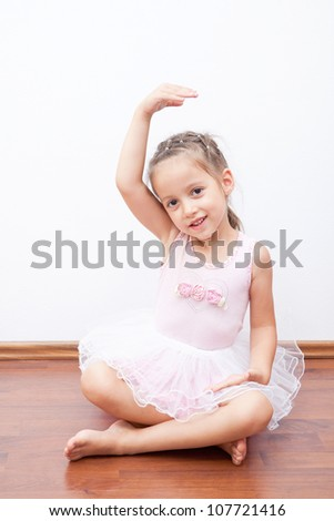 smile little ballerina have exercises
