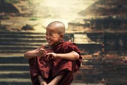 Smile of faith novices in Myanmar.