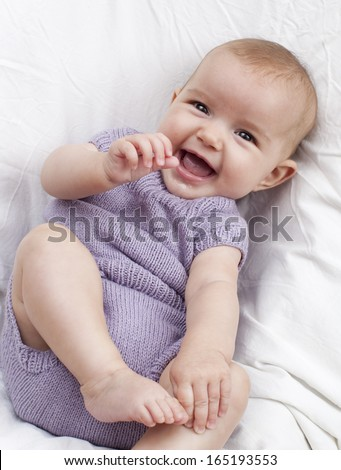 smiling baby for happy parenting