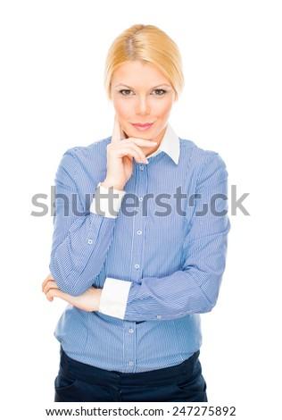Smiling businesswoman #247275892