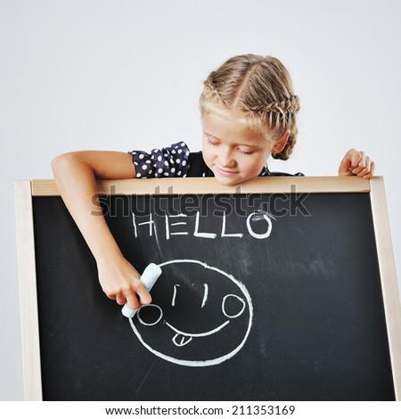 Schoolgirl - Cute kid