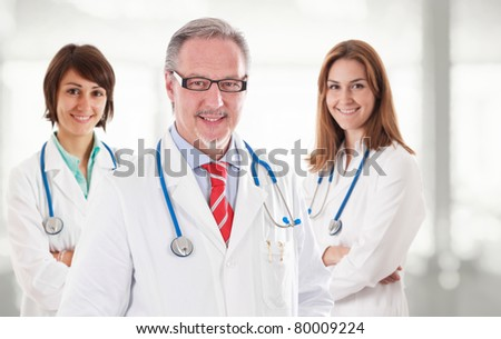 Smiling doctors