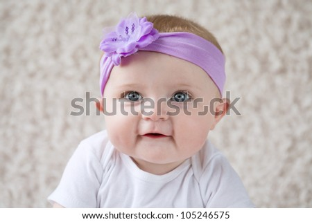 Smiling Infant Baby [6 Month Old]