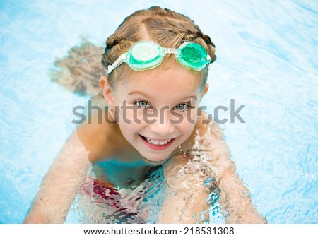 Free Photos Pretty Little Girl In Swimming Pool