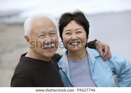 Smiling Mature Couple - stock photo