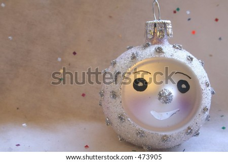 Smiling Ornament