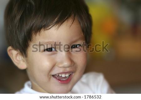 Smiling Toddler #1786532