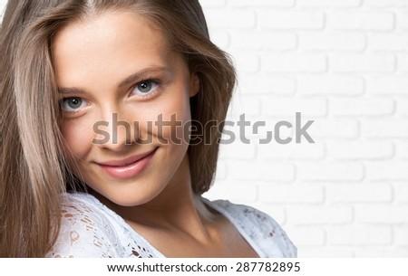 Smiling, Women, Human Teeth.