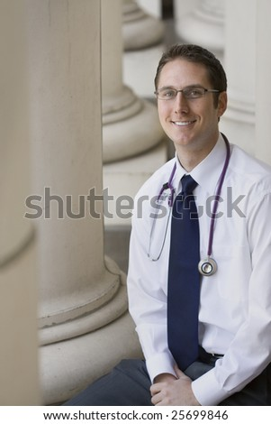 Smiling Young Attractive Doctor