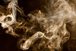 Smoke Abstract horizontal