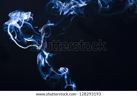 Smoke background for art design or pattern - stock photo
