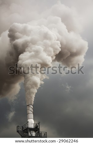 Smoke from talk, ecology problems