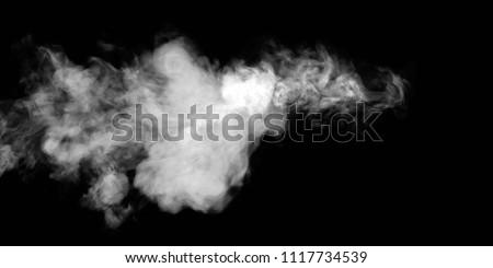 smoke stock image #1117734539