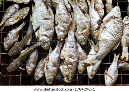 smoked fish, traditional thai style
