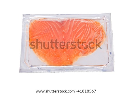 Salmon Package Salmon Slices in Package
