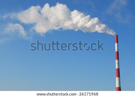 smokestack and white smoke