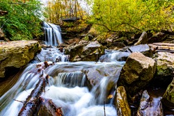 Smokey Hollow waterfalls in Waterdown, Hamilton - Ontario