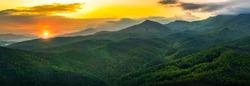 Smokey Mountains sunset