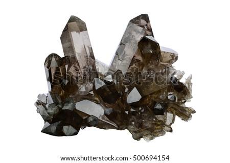 Smokey quartz from Zinggenstock, Berner Oberland, Switzerland.  #500694154