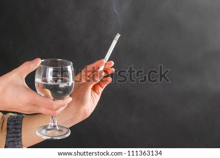 Smoking and drinking