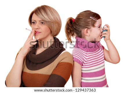 Smoking can cause asthma in children