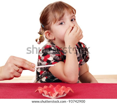 smoking endangers the health of the child