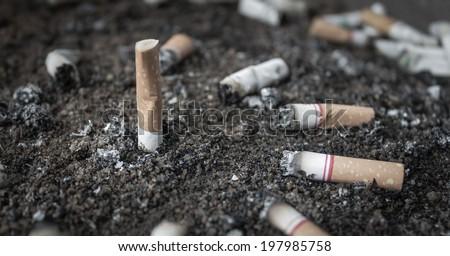Smoking represents a health hazard