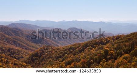 Smoky Mountains National Park, Tennessee, USA - stock photo