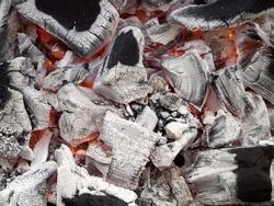 Smoldering lump charcoal of the quebracho tree, Premium grade restaurant and Barbeque lumpwood charcoal