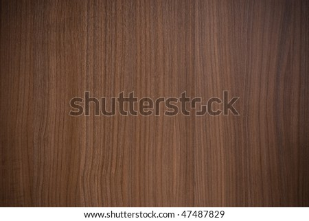 Smooth brown surface of wooden furniture