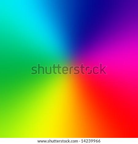 Smooth color wheel