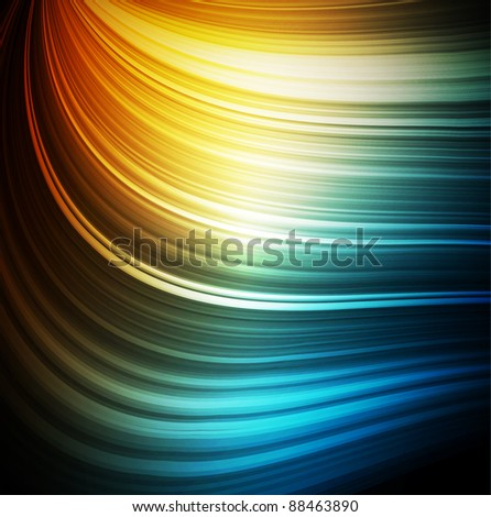 Smooth colorful abstract fantasy background