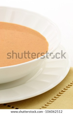 Smooth, creamy and  highly-seasoned french lobster bisque, this delicious cream soup of french origin is a classic, and can be made from lobster, crab, shrimp or crayfish.