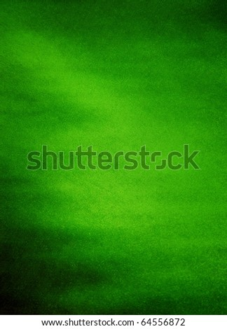 Smooth elegant green of satin
