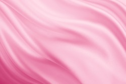Smooth elegant pink silk or satin texture can use as background